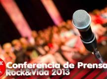 Rock&Vida 2013 conferencia de prensa