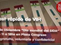 Testeo de VIH en Congreso