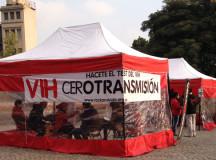 Campaña de test rapido de VIH en Buenos Aires