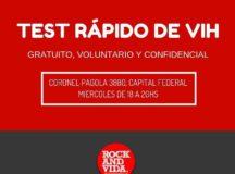 El Centro de Testeos RockandVida en Buenos Aires cumple 4 años