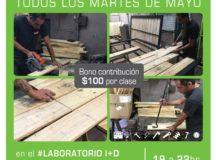 Laboratorio I+D: Taller de Carpintería Sustentable