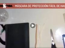 Mascara de protección facial